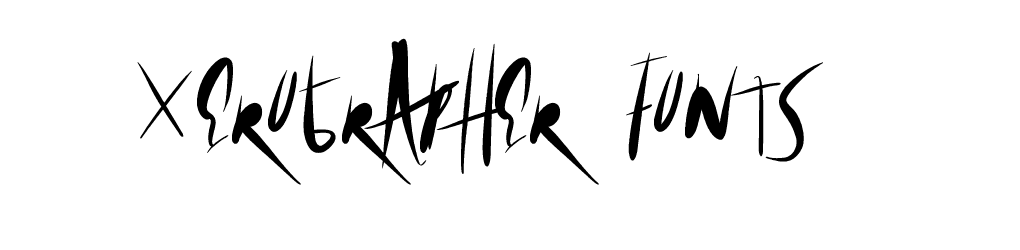 xero fonts