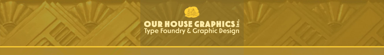 Our House Graphic Design
