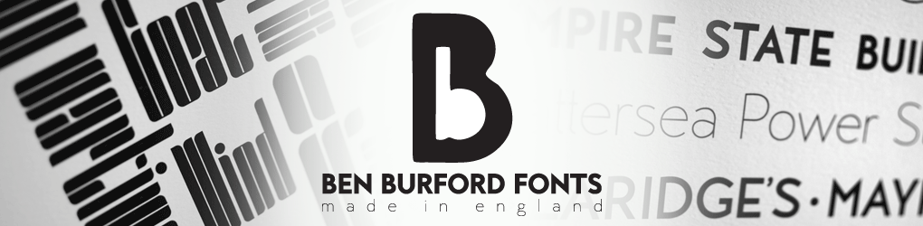 Ben Burford Fonts