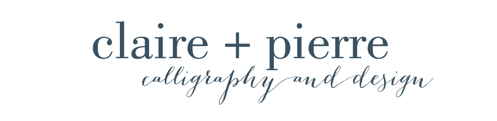 Claire + Pierre Design