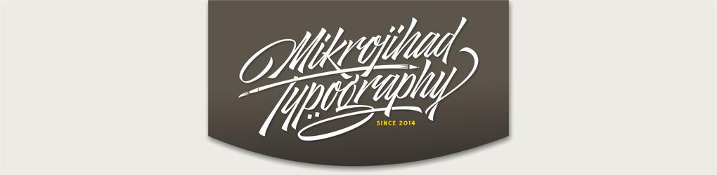 Mikrojihad Typography