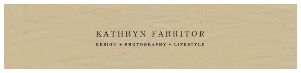 Kathryn Farritor Design