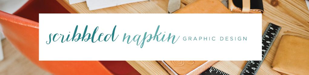 Scribbled Napkin Design