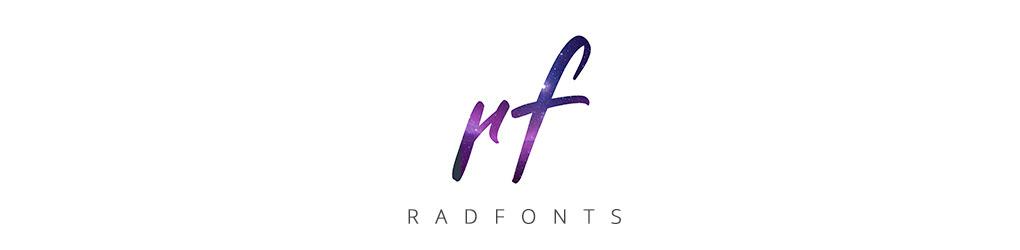 Rad Fonts