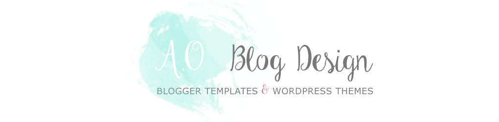 AO Blog Design