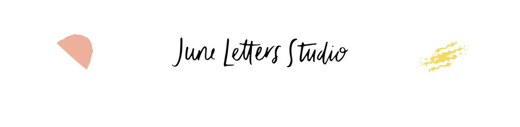 June Letters Studio