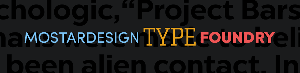 Mostardesign Type Foundry