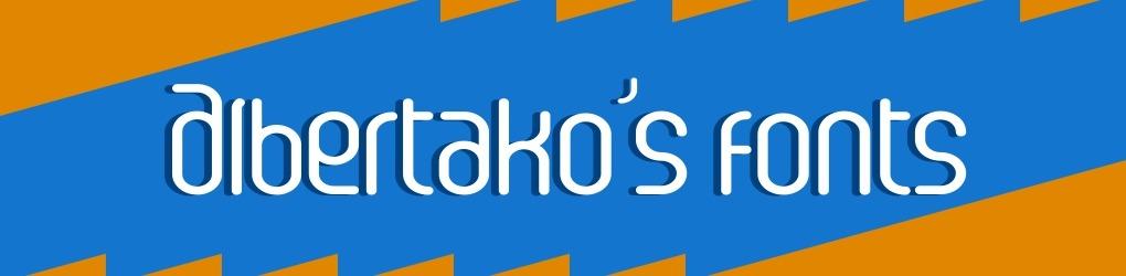 Albertako's fonts