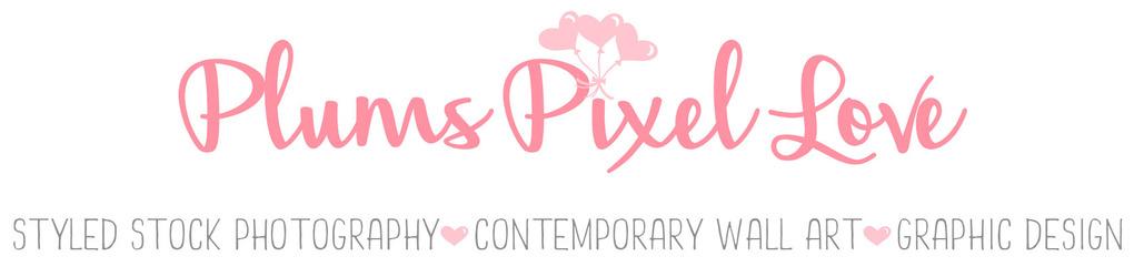 Plums Pixel Love
