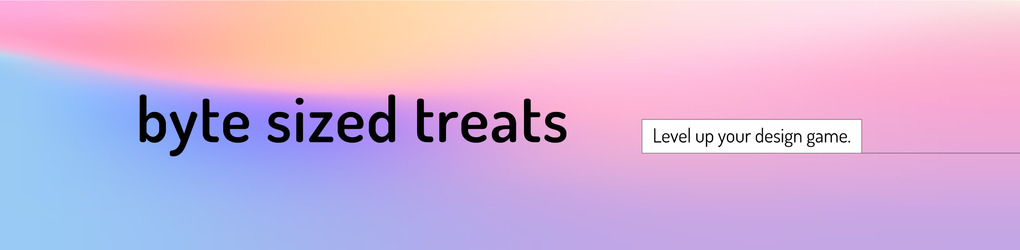 Byte Sized Treats