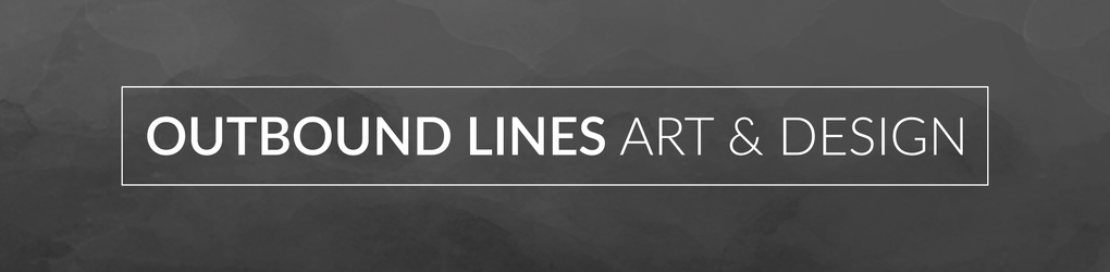 Outbound Lines Art