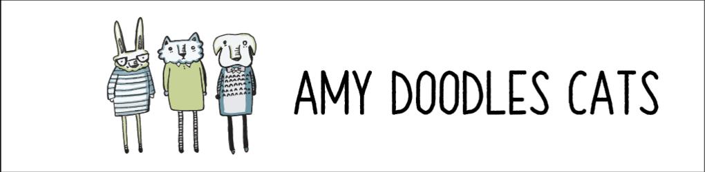 Amy Doodles Cats