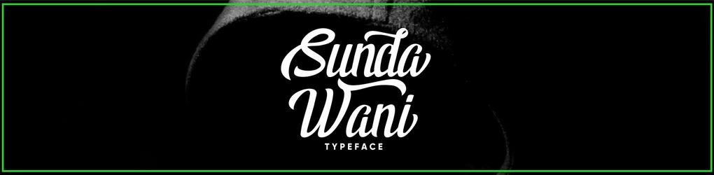 Sundawani Typeface