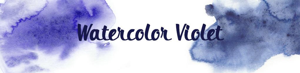 Watercolor Violet