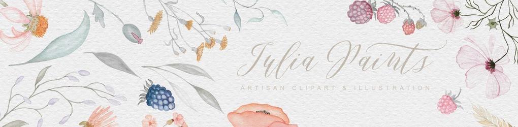Iulia paints