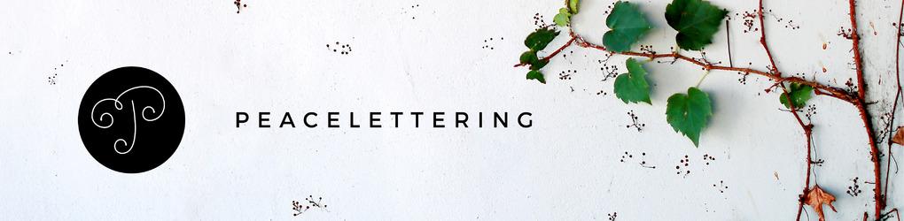 Peacelettering