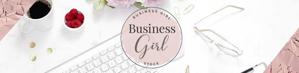 Business Girl Stock