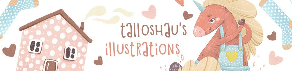 talloshau's illustrations