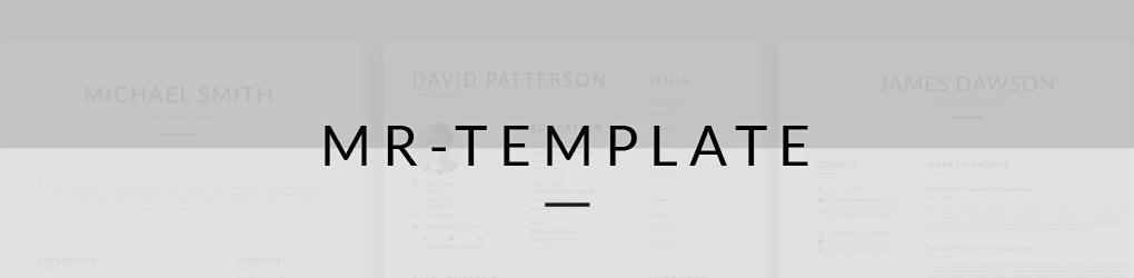 Mr-Template