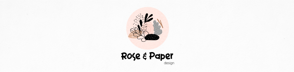 rose and paper design