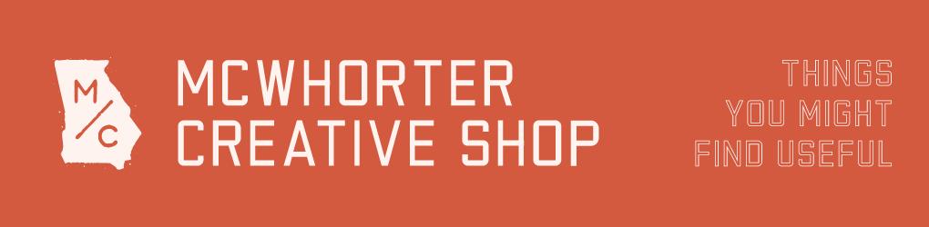 McWhorter Creative Shop