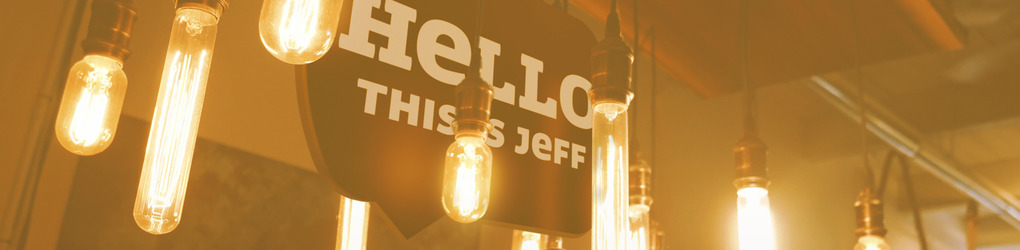 HELLO THIS IS JEFF