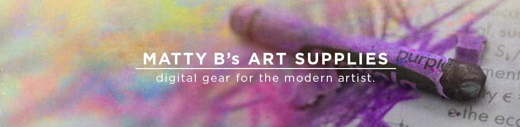 MattyB's Art Supplies