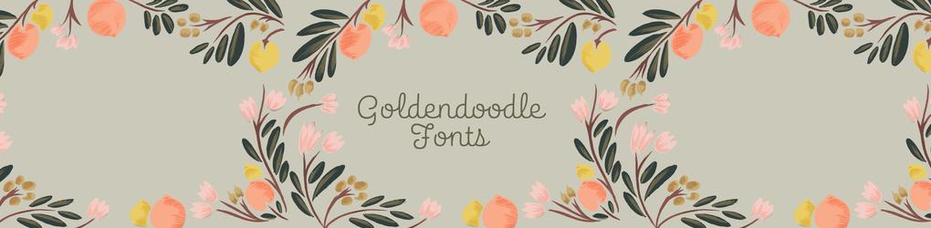 Golden Doodle Fonts