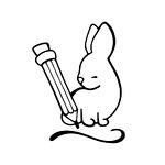 RabbitAndPencil