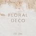 Floral Deco