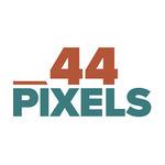 44 pixels