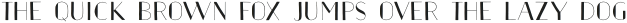 Naive Inline Sans Shadow Light