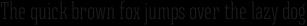 Triunfo Ultracondensed