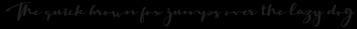 Madelon Calligraphy Regular