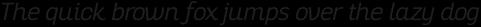 Altair Light Italic