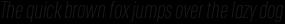 RF Rufo Thin Italic