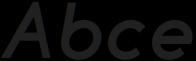 Click ExtraBold italic otf (700) Sample