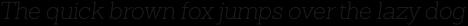 Sanchez Slab ExtraLight Italic