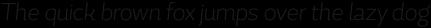 Magallanes Cond ExtraLight Italic