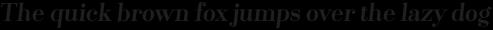 Santis Bold Italic