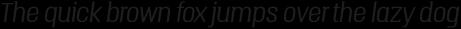 Triump Thin Italic