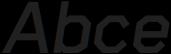 Raker Bold Italic otf (700) Sample