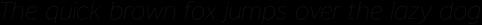 Banjax Lite Thin Italic