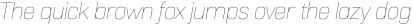 Normative Lt Thin Italic