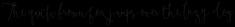 Boho Script Drop
