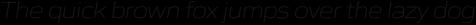 Gomme Sans ExtraLight Italic