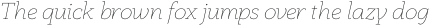 Anaphora Thin Italic