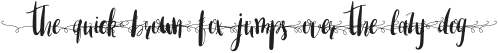Amber Light Font swirls lowercase Update