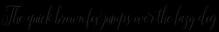 Aneisha Script Bold