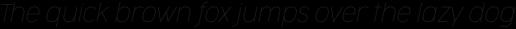 Cocogoose Narrow Thin Italic